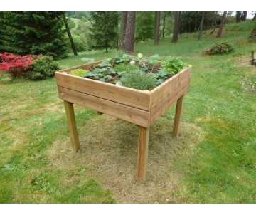 Table potagère en bois fabriquée en France par CIHB