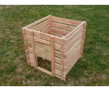 Composteur en bois douglas-700 litres, fabriqué en France par CIHB