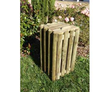 Corbeille en bois 60 litres fabriquée en France par CIHB