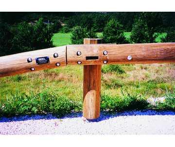 Glissière de sécurité en bois fabriquée en France par CIHB