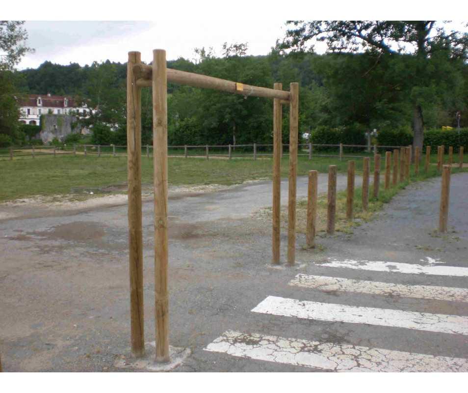 Limiteur de hauteur en bois fabriqué en France par CIHB