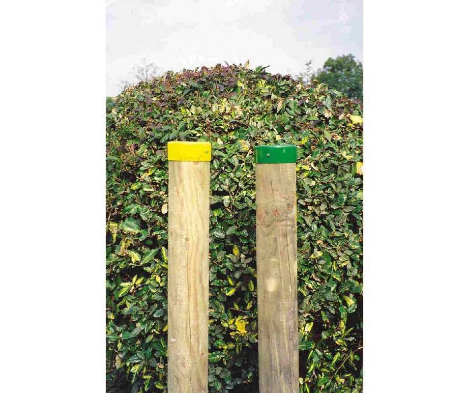 Balise de chemin de randonnée bois fabriqué en France par CIHB.