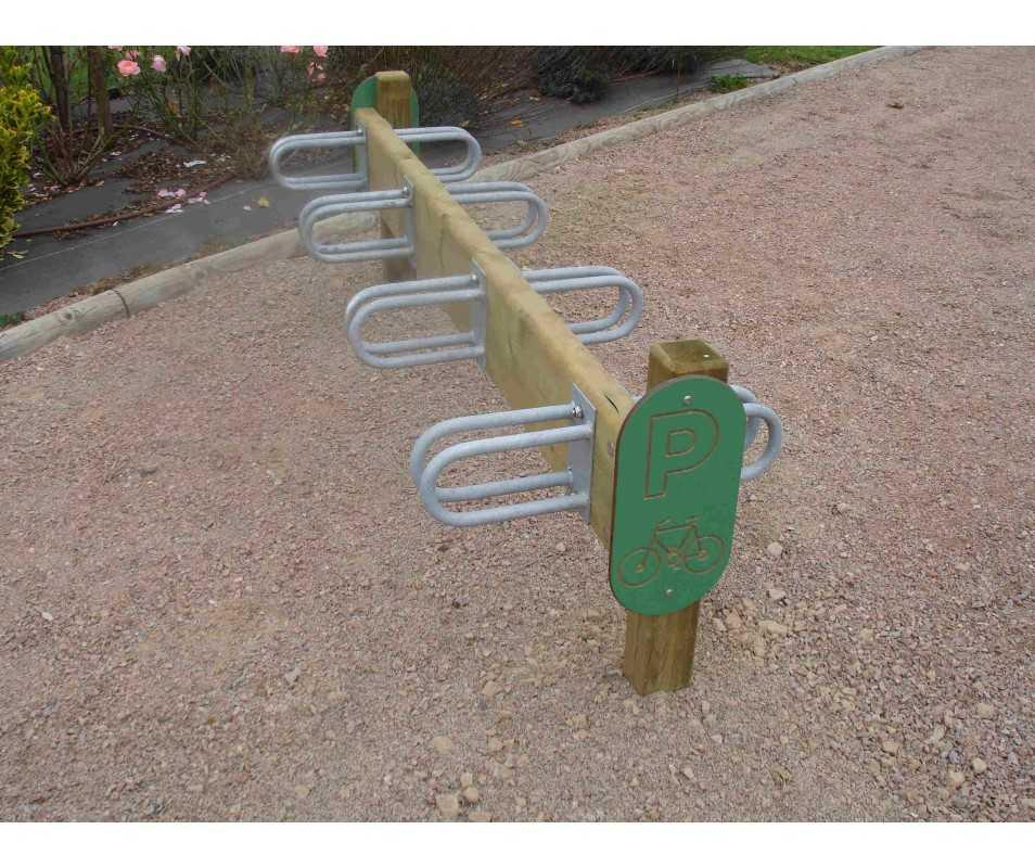 Claie à vélo 8 positions fabriquée en France