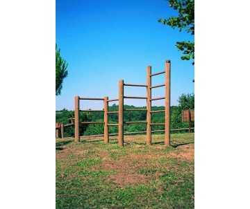 Esacaladeur en bois, jeux pour enfants 6-12 ans, à la norme collectivité, fabriqué en France par CIHB
