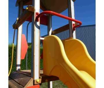 Jeu pour collectivités et aires de jeux- Citadelle de Camille pour enfants de 6 à 12 ans.