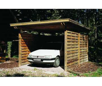 Carport en bois Provence