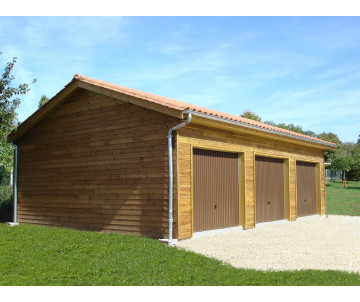 Kit Grand garage en bois