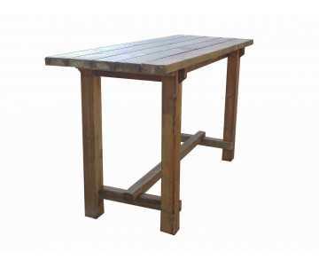 Table haute mange debout- 2 mètres de long. Fabrication en France