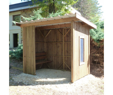 Abri en bois Charente