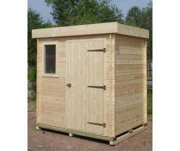 abri de jardin en bois moderne par CIHB