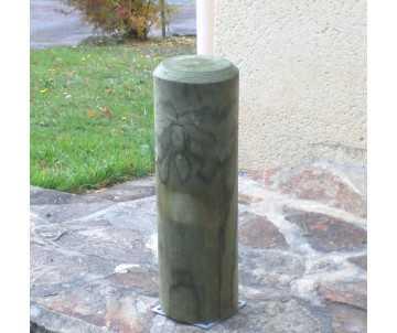 Borne en bois diamètre 16 cm par CIHB-bois certifié PEFC et traitement autoclave classe IV CTB-B+