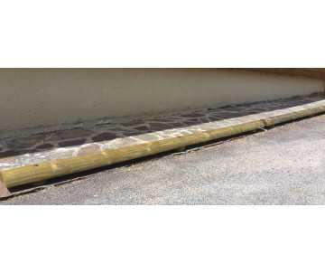 butée de parking de fabrication française par CIHB-bois certifié PEFC, traitement bois par autoclave classe IV CTB-B+