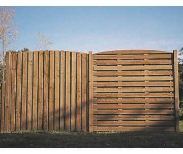 Claustra en bois Romane fabriqué en Farnce par CIHB. Bois certifié PEFC